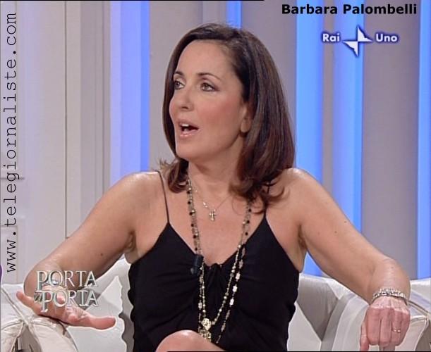 Barbara Palombelli telegiornalista