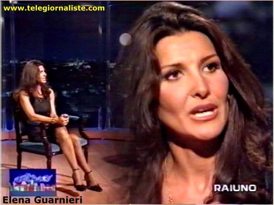 Elena Guarnieri telegiornalista