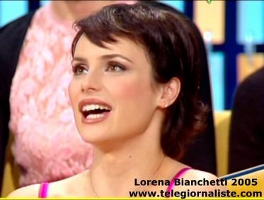 lorena bianchetti parrucca
