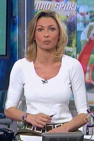 Monica Vanali Telegiornalista