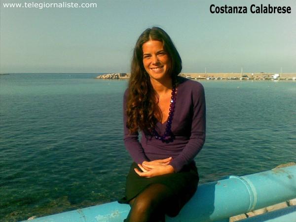 Costanza Calabrese telegiornalista